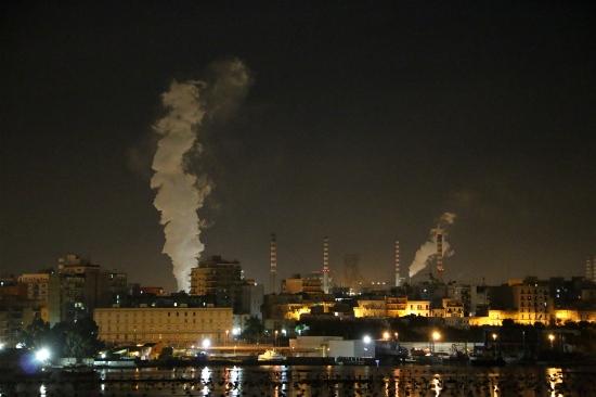Ilva di Taranto 17/10/2013 ore 23.30