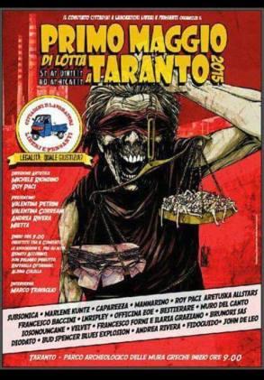 Locandina 1 maggio Taranto
